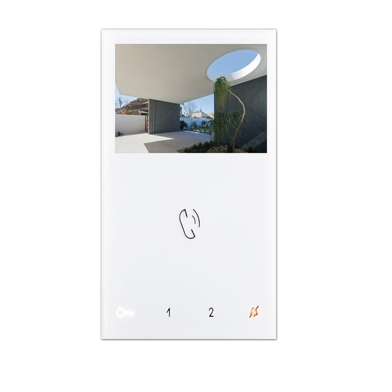 Comelit Mini 6721W video monitor handsfree